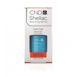 Shellac nail polish - CERULEAN SEA