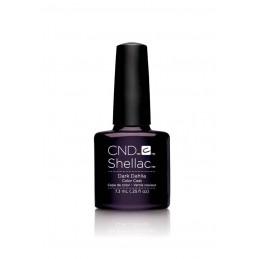 Shellac nail polish - DARK DAHLIA