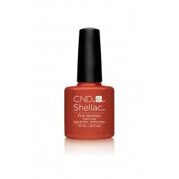Shellac nail polish - FINE VERMILION